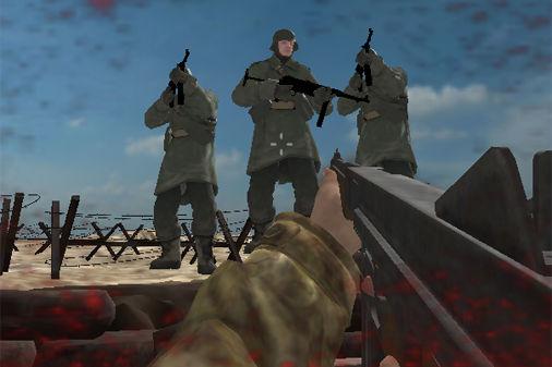 塹壕に立て籠もって敵兵を排除する防衛fps wwii seige アクション